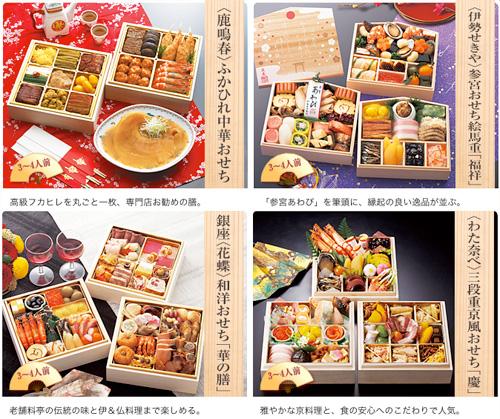 JALショッピングのおせち料理