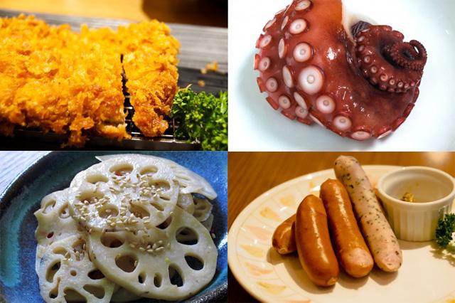 縁起かつぎの食べ物