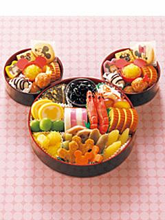 紀文のミッキーマウスおせち